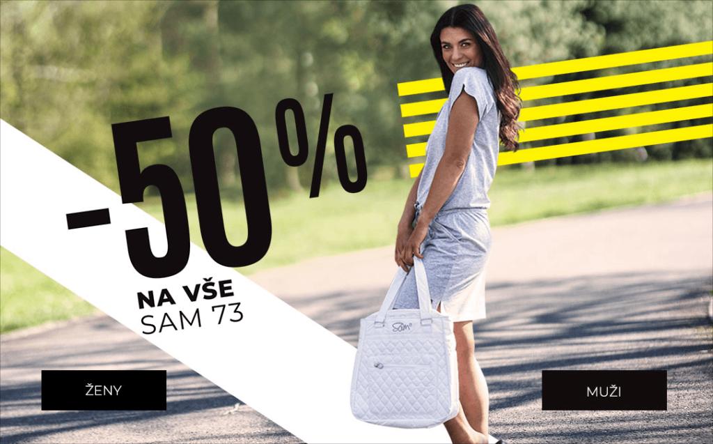 Sleva 50 % na vše SAM73
